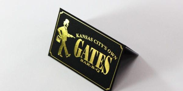 Gold Foil (Gates Bar-B-Q)